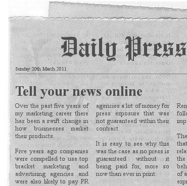 Ten Points for Writing an Online PressRelease